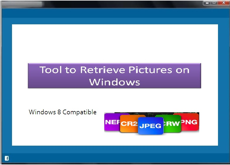 Tool to retrieve lost photos from hard drive